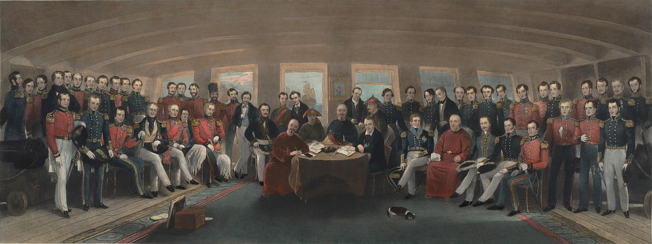 John Burnet (after John Platt), Signing of the Treaty of Nanjing, 1846