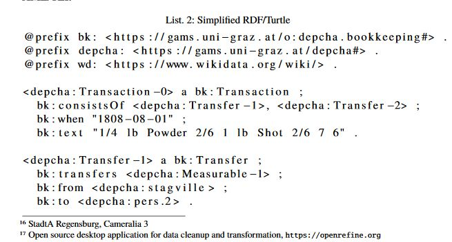 Code example from the paper